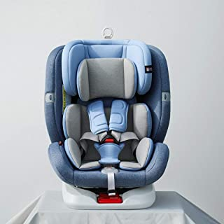 Cochecito de bebé Asiento de seguridad for niños, puede dormir y se encuentran en lo universal asiento de rotación de 360 °, puede ser instalado de avance y retroceso, con cinco puntos fija el cintu