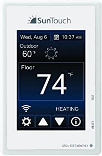 SunTouch Connect 500875-SB Wi-Fi Programmable TouchScreen Floor Heating Thermostat