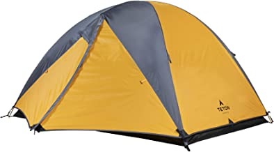 TETON Sports Mountain Ultra Tent; 1-4 Person Backpacking Dome Tent; Great for Camping; Waterproof Tent with Footprint Included (Renewed)