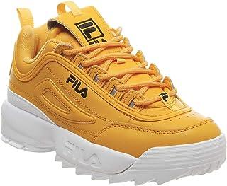 Fila Disruptor II Premium Womens Gold/Black Trainers