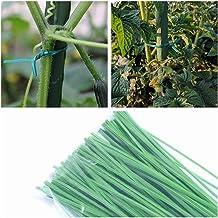 Ardorlove Gardening Tying Tool - Plastic Coated Iron Wire Tie - Garden Plant Supplies - Gardening Pillar Fittings For Household,300Pcs