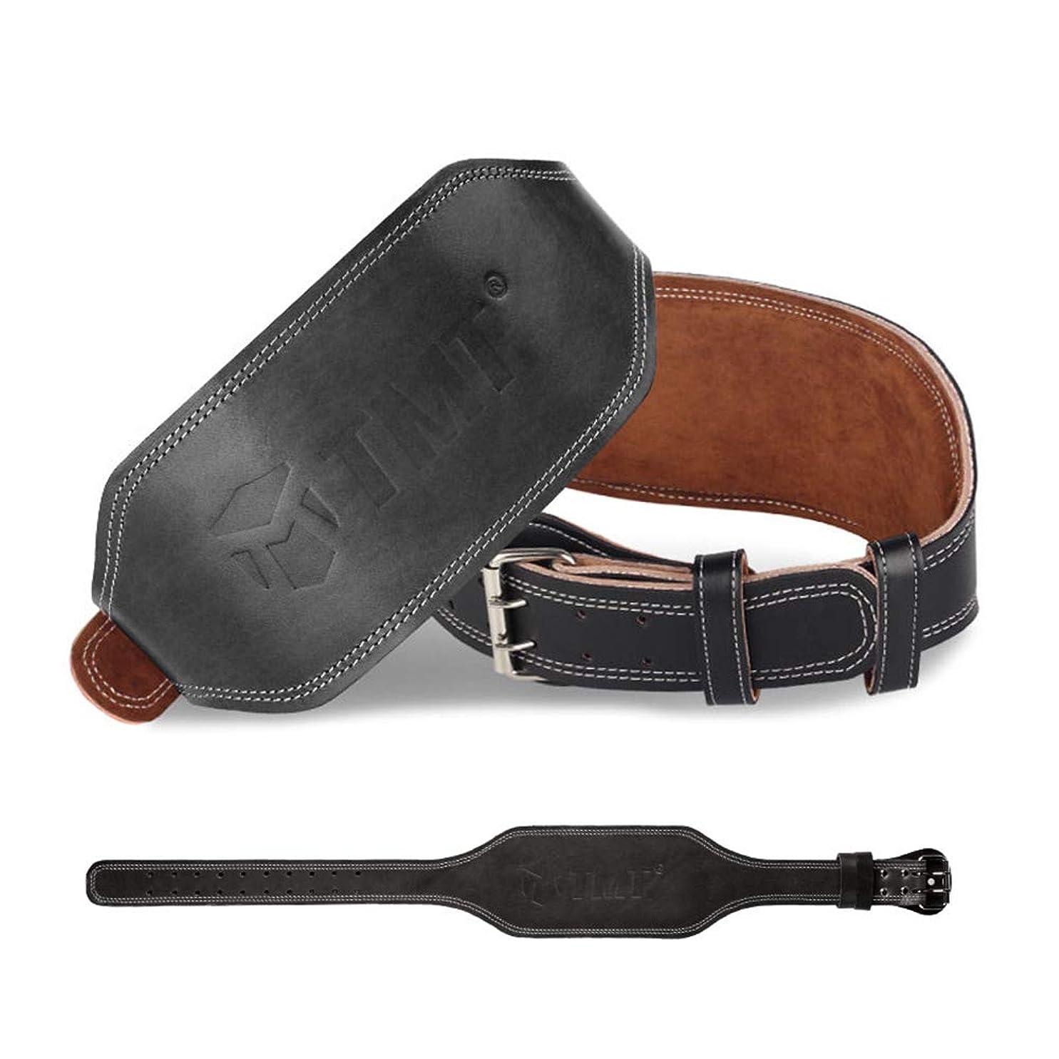 加入呪われた性能TMT ウェイトトレーニング レザーベルト 腰サポーター 高級感 装備 腰保護 腰ベルトスクワット パワーリフティング ベンチプレス デッドリフト トレーニング用道具 男女兼用