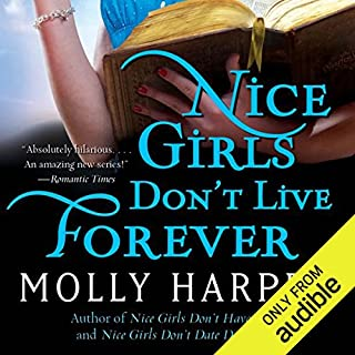 Nice Girls Don't Live Forever     Half-Moon Hollow, Book 3              Written by:                                                                                                                                 Molly Harper                               Narrated by:                                                                                                                                 Amanda Ronconi                      Length: 8 hrs and 58 mins     9 ratings     Overall 4.7
