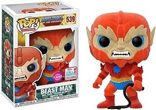 Funko - Figurine Master Of The Universe - Beast Man Flocked Exclu Pop 10cm - 0889698208956
