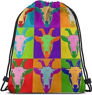Sport Drawstring Sack for Football Team Beach, Waterproof String Bag