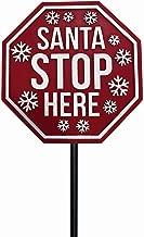 Best santa stop here garden sign Reviews