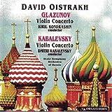 Glazunov and Kabalevsky: Violin Concertos