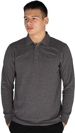 Pierre Cardin Mens Long Sleeve Classic Fit Premium Top Polo T Shirt