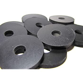 Amazon Com 10 Pack Heavy Duty 2 Ply Nylon Reinforced Primal23 Industrial Brand Neoprene Rubber Washers 1 1 4 Od X 5 16 Id X 1 8 Thickness Primal23 Industrial Performance Series Rubber Washers Home Improvement