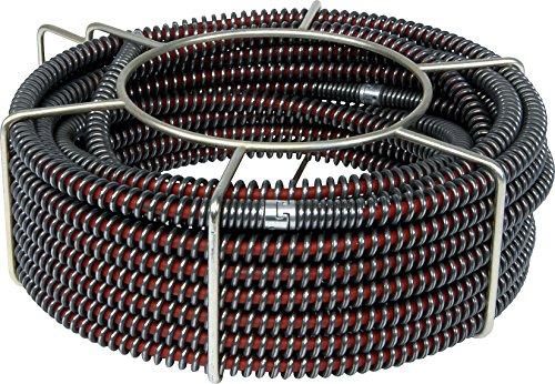 5 S-Rohrreinigungsspiralen mit Kern 22mm (S-SMK) im Trage-Korb von ROWO®