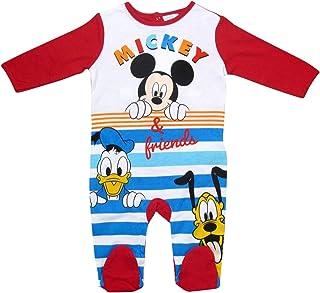 MICKEY MOUSE Kollektion 2018 Strampelanzug 62 68 74 80 86 92 Strampler Einteiler Maus Disney Rot Rot, 80-86