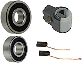 Alternator Rebuild Kit for 2008-2010 Chrysler Town & Country, Dodge Caravan, Wrangler; Brush Holder, Brushes, Bearings - 11295RK