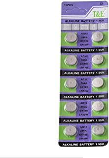 Cotchear AG12 10Pc Alkaline Button Cell Watch Batteries