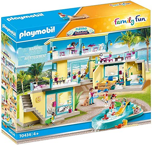 PLAYMOBIL Family Fun 70434 PLAYMO Beach Hotel, Ab 4 Jahren