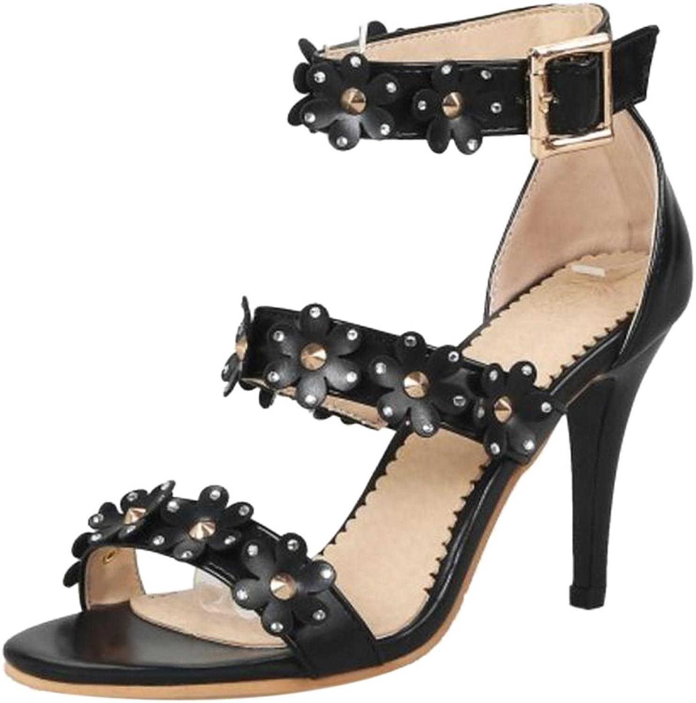 KemeKiss Women Stiletto Sandals Party Dress