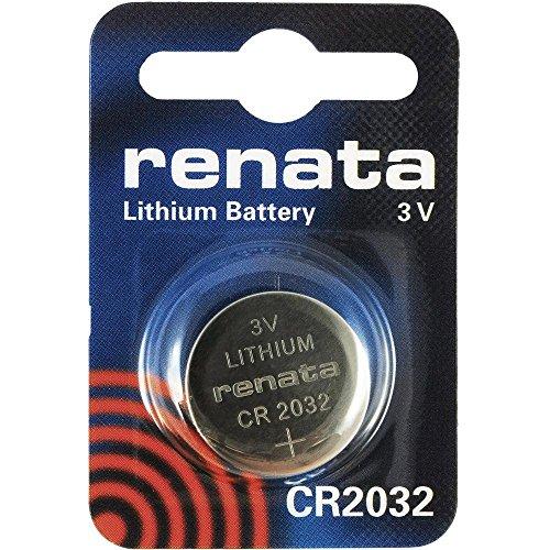 CR2032 Knopfzellenbatterie / Lithium 3V / für Uhren, Taschenlampen, Autoschlüssel , Taschenrechner , Kameras, etc / iCHOOSE
