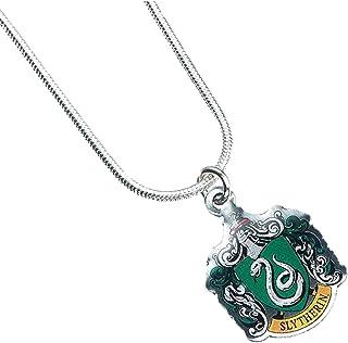 Carat - HARRY POTTER Collar con Colgante Slytherin, verde, one size