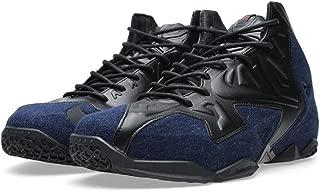Nike Men's Lebron XI EXT Denim QS, BLACK/BLACK-DENIM, 12 M US