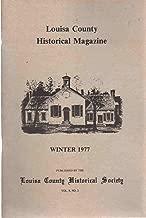 LOUISA COUNTY HISTORICAL MAGAZINE WINTER 1977 VOLUME 8 NO. 2