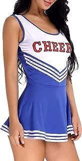 ZTie Women's School Girls Musical Party Halloween Cheerleader Costume Fancy Dress Uniform Outfit