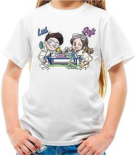 Maglietta Youtuber Lui e Sofi Slime Lab Bambina e Bambino Unisex
