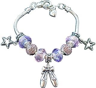 Infinity Collection Dance Charm Bracelet- Dance Jewelry- European Style Snake Chain Bracelet- Dance Recital Gift