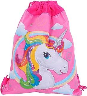 Mochila Infantil Niña Unicornio - Bolsas Escolares Infantiles Petates Ideales para Detalles de Bodas, Comuniones y Fiestas de Cumpleaños