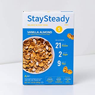 Nutritious Living StaySteady, Vanilla Almond Cereal, 10 oz