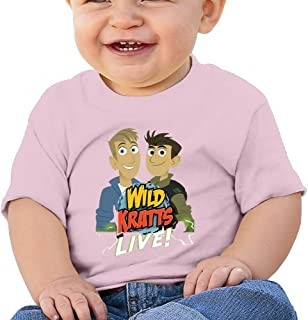 Jackson 6-24 Month Baby T-Shirt Wild Kratts Logo Personalized Fashion Customization White Vito H
