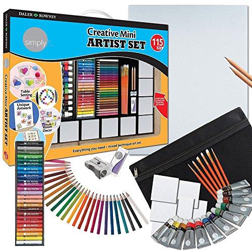 Daler-Rowney Creative Mini Artist Set