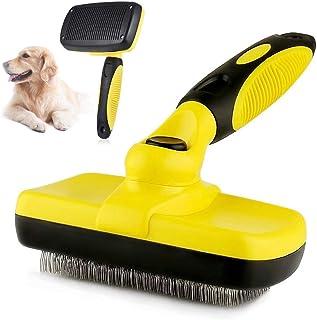 HTRUIYATY Szczotka do czyszczenia zwierząt domowych dla psów i kotów, do pielęgnacji zwierząt domowych, odpowiednia do dłu...