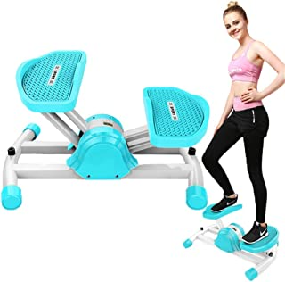 Air Climber Aerobic Fitness Step Stair Stepper Twist Exercise Machine with Accessory Cord Blue JoyBuySaudi