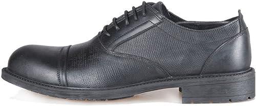 LEDLFIE LEDLFIE LEDLFIE Chaussures en Cuir pour Hommes Souliers Simples Chaussures à Lacets pour Hommes 825