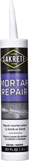SAKRETE of North America 65450016 10.3 oz Tube Mortar Repair Caulk