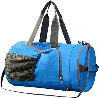 LIOOBO Travel Bag Dry Wet Depart Shoulder Bag Gym Bag Large Capacity Tote Bag Handbag for Men Women Outdoor