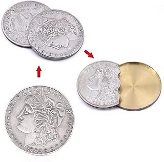 Super Flipper Coin/フリッパーモルガンコイン モーガンコイン 近景コイン マジック道具 手品 道具