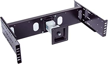 RLCD-FRAME2BK12K2 42 inch 100x100mm VESA LCD Monitor TV Rackmount Adapter Kit for Industrial Standard 19 inch Relay Rack or 4 Post Server Rack. Supports Monitor up to 30 lb.