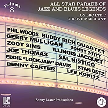 All Star Parade of Jazz and Blues Legends, Vol. 8 - The Jazz Saxophones