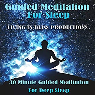 Guided Meditation for Sleep: 30 Minute Guided Meditation for Deep Sleep audiobook cover art
