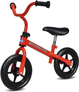INFANS Lightweight Balance Bike, Kids Training Bicycle with Height Adjustable Seat & Handlebar, Inflation-Free EVA Tires, ...