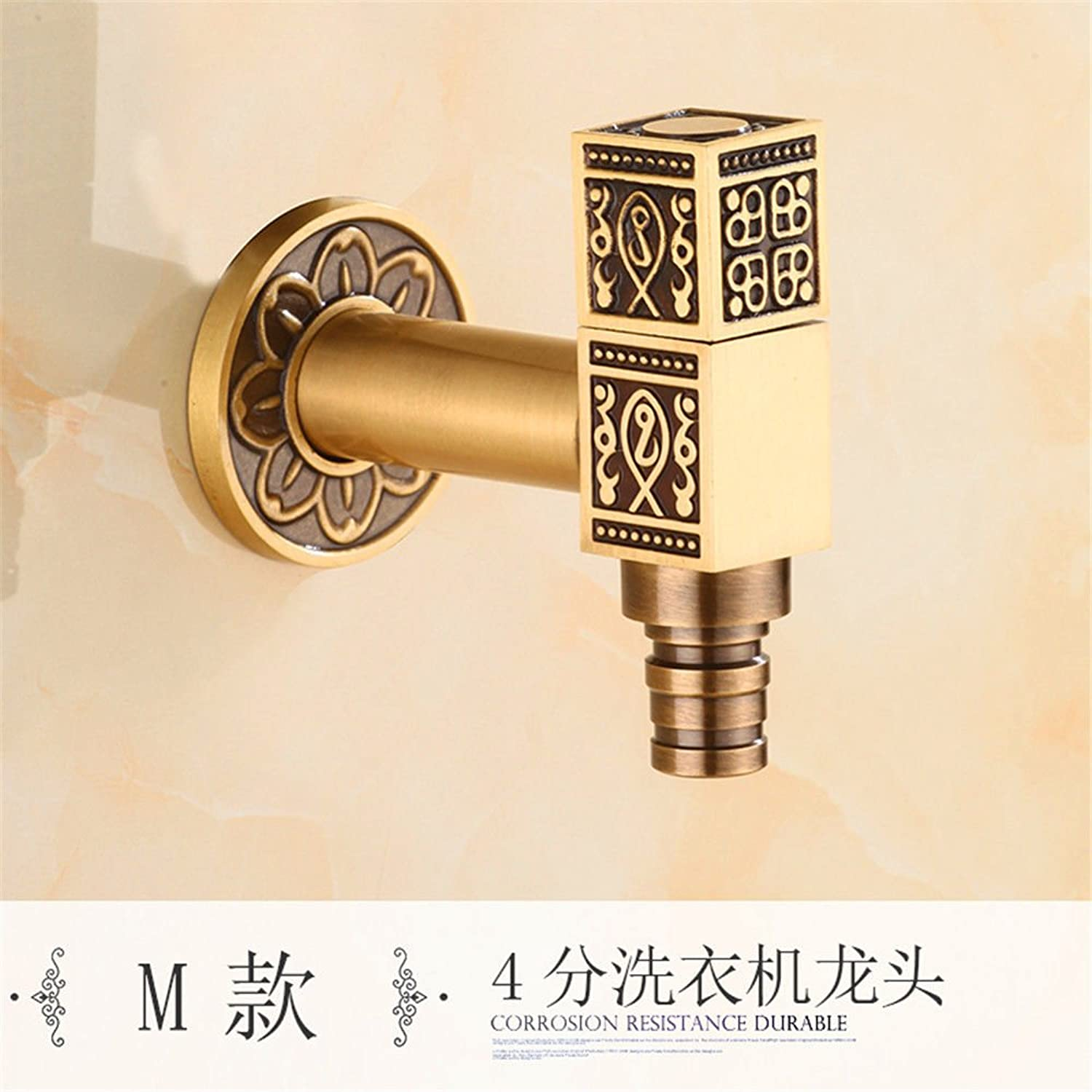 Bijjaladeva Antique Kitchen Sink Mixer Tap Tap Home to Bend Single Cold Water Faucet Kitchen Sink Dish Washing Basin Faucet Cold Water 000 to redate Single Hole Faucet D1