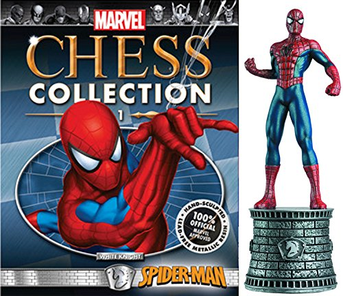 Eaglemoss Marvel Chess Figurine Collection Nº 1 Spiderman