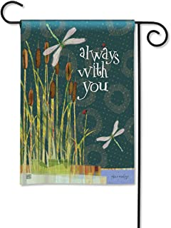 BreezeArt Studio M Always with You Decorative Memorial Bereavement Garden Flag – Premium Quality, 12.5 x 18 Inches