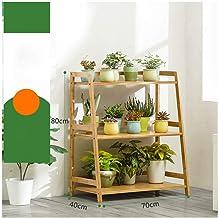 Home decoration display rack/Flower Shelf Floor Indoor Multi-layer Balcony Solid Wood Green Radish Living Room Fleshy Flow...