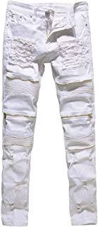 Beikoard Heren Slim Fit Stretch Rechte Been Stretchable Ripped Denim Jeans Broek Alle Taille Skinny Ripped Designer Denim ...