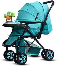 Ydq Silla De Paseo Cochecito para Bebé Carrito Baby Jogger Carriage Aprobado Prueba Silla De Paseo Reversibilidad RotacióN Multifuncional De 360