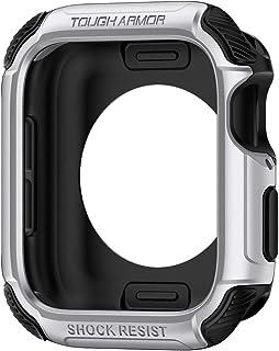 Spigen Tough Armor designed for Apple Watch 44mm case/cover Series 5 / Series 4 - Silver