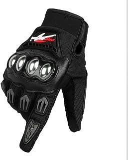 HAOSHUAI Outdoor Ademende Racing Motocross Fietshandschoenen, Meerdere kleuren Ridding handschoenen (kleur: Rood, Maat : M)