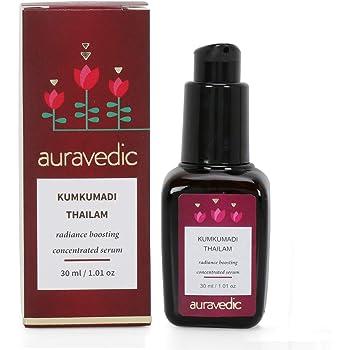 Auravedic Kumkumadi Thailam - Radiance Boosting Concentrated Serum.