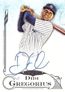 2015 Topps Five Star #FSA-DG Didi Gregorius Certified Autograph Baseball Card